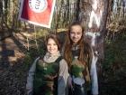 Nejmladší členky dívčího Pardubického paintballového týmu